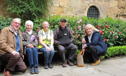 Durham Welcomes Northumbria In Bloom Judges