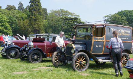 Ripley Castle Classic Car Rally