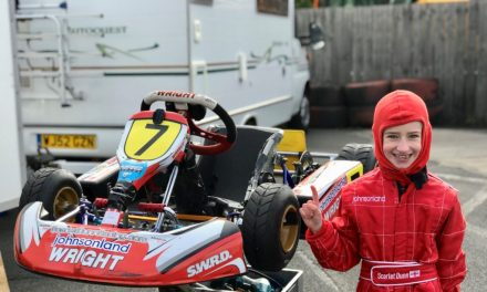 Scarlet Takes First Pole Position and Another Podium at Teesside