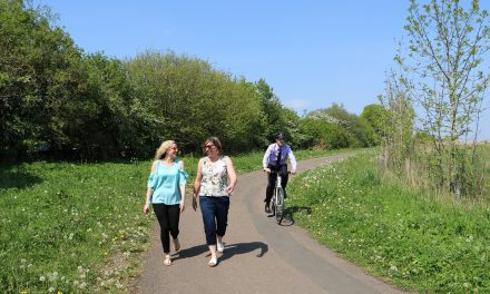Cyclists & Walkers Encouraged To Enjoy Shared Spaces