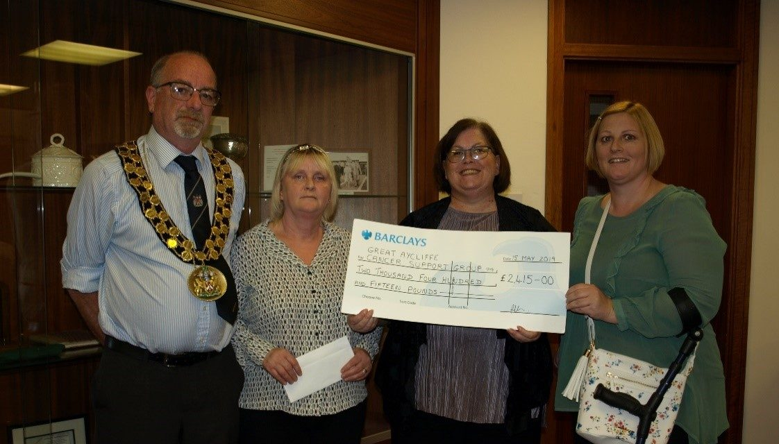 Great Aycliffe Town Council Mayor