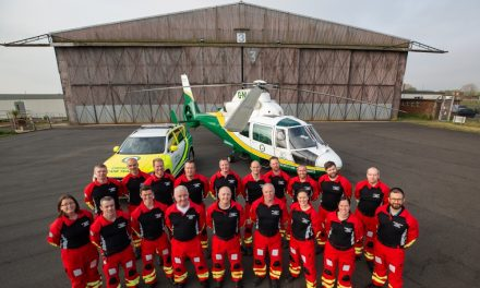 Great North Air Ambulance Service New Uniforms