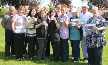 Big NHS Tea Party at Hospital