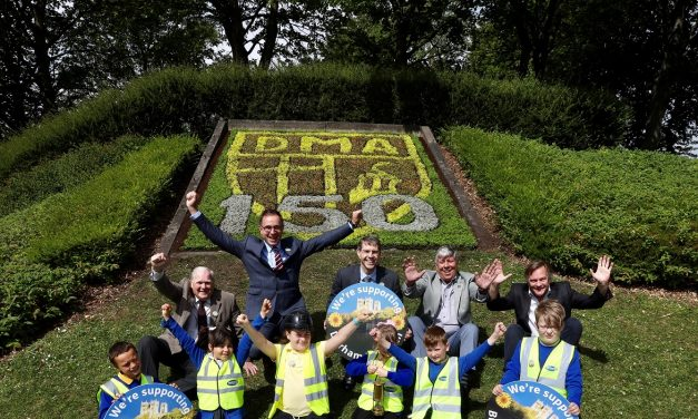 150 Years of Mining Celebrated in Flowers