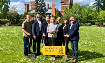 Husqvarna Supports North East's 'Buzzing Garden'
