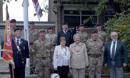 Mayor Commemorates Armed Forces Day 2019