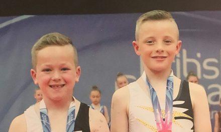 British Silver Medal-Winning Gymnasts Amongst Athena Ranks