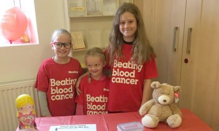 Bloodwise Fundraiser Edges Towards £40k