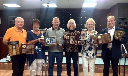 Great Aycliffe Indoor Bowling Club Awards Night