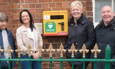 Defibrillator for Aycliffe Village