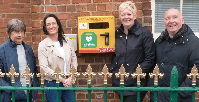 Defibrillator for Aycliffe Village