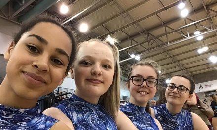 Silver Medal for Roller Skating Quartet at British Championships