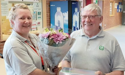 Thank You and Goodbye to a Long-Serving Volunteer