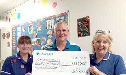 Golf Captains Day Raises £1200