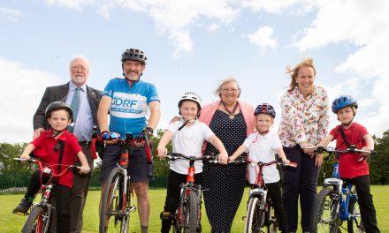 Primary school pupils are bigging up biking in their community
