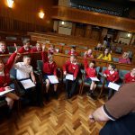 Primary school pupils deliver valuable road safety sonnets