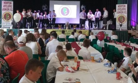 Newton Aycliffe Junior FC Annual Presentation Day Celebrations