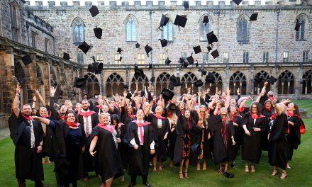 Bishop Praises Graduates at Durham Cathedral Ceremony