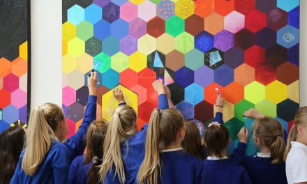 Byerley Park and Local Artist Create 'Cosmic' Art for Durham University