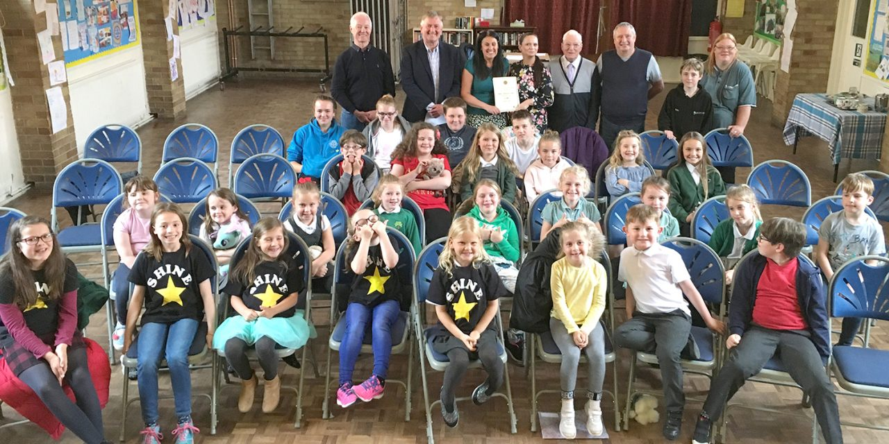 Aycliffe Lodge Support Shine Choir