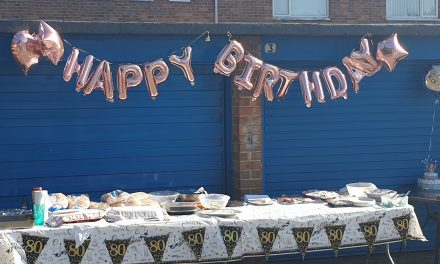 Street Party for Oldest Resident