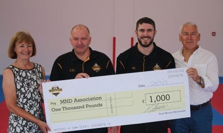 Team Warrior Raise £1000 for MND Association