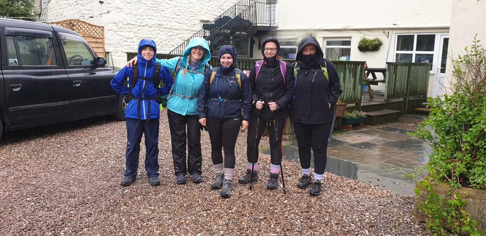 Wellbeing for Life Team Made a Splash for the 3 Peaks Challenge