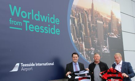 Darlo F.C. Team Up With Teesside Airport