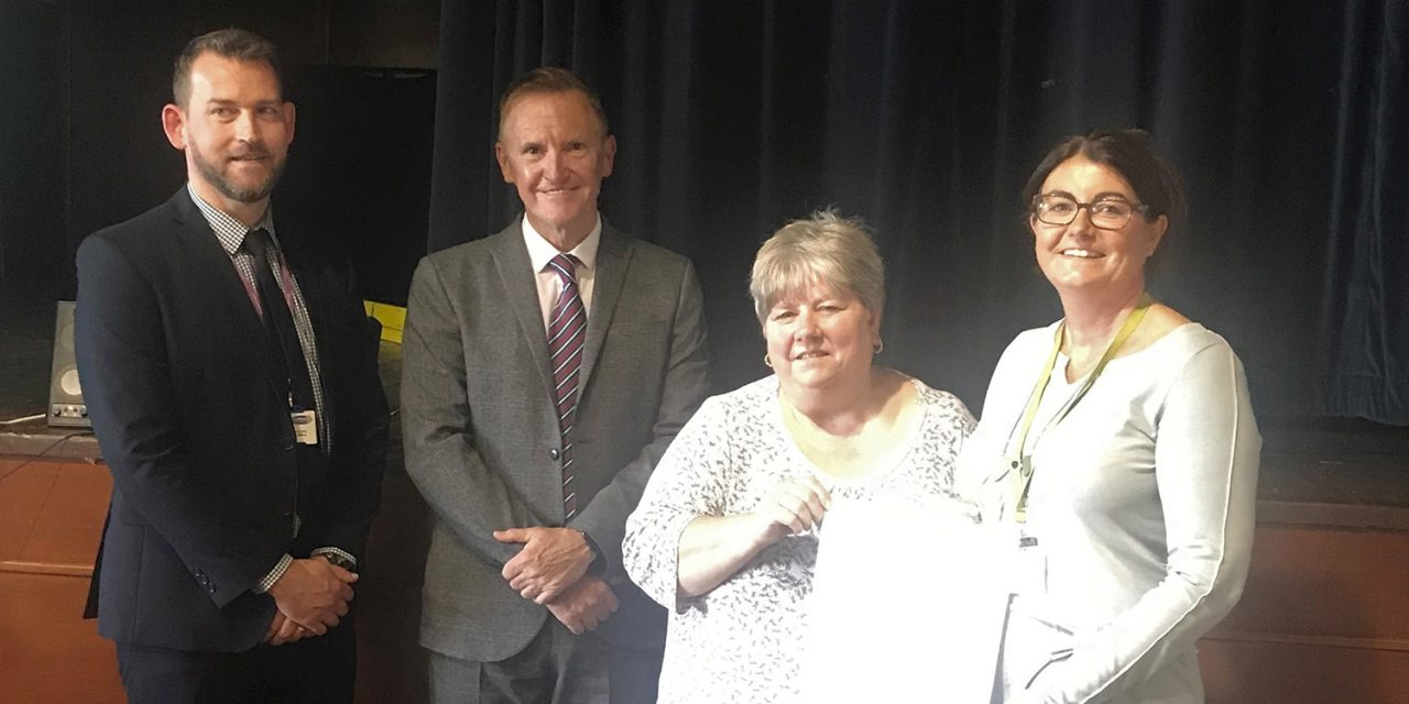 Partnership Second Award for Supporting Young Carers