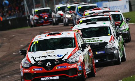 Coates Stars in Thruxton Thrillers