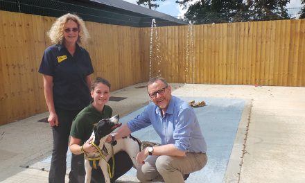 Phil Wilson, MP, vists Dogs Trust
