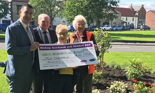 West Auckland Blossoming Thanks to Volunteers