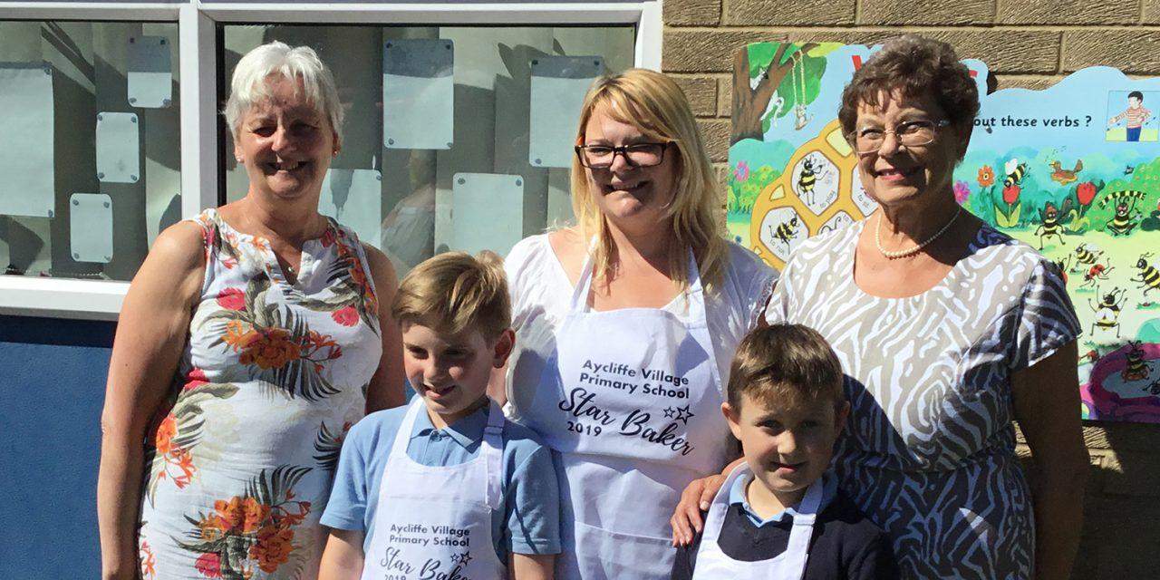 Aycliffe Village W.I. Judge School Bake-Off