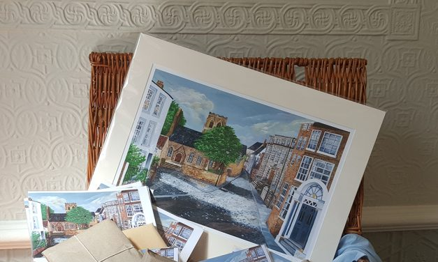 Local Artist Making Links with St John's College