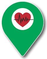 New Defibrillator Locations App