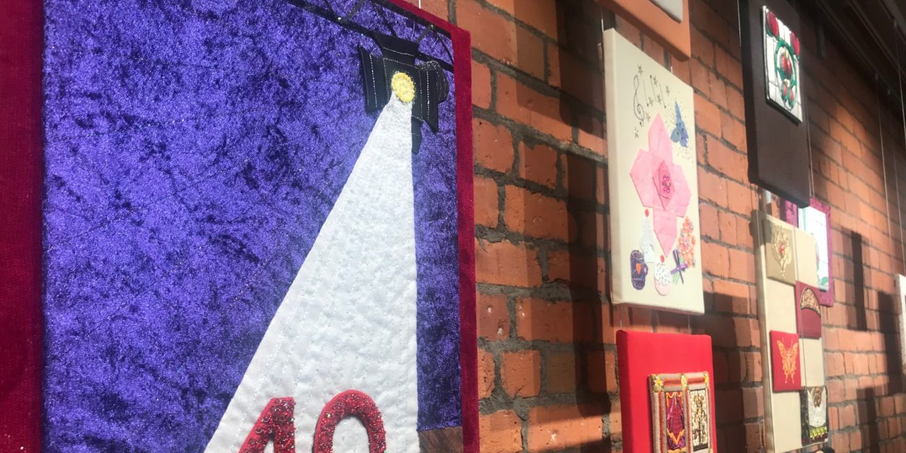 Hippodrome Exhibition all Sewn up