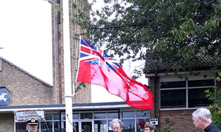 Town Marks Merchant Navy Day