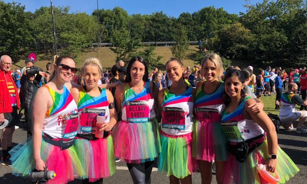 Crafter's Companion Smashes £3000 Fundraising Target For Rainbow Trust Children's Charity