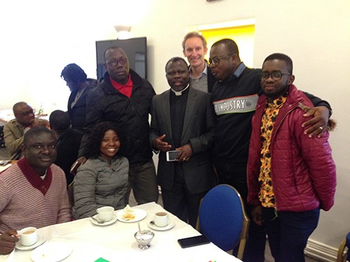 African Team Visit Newton Aycliffe