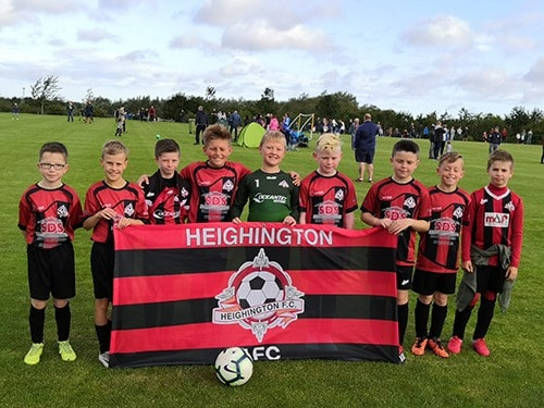 Heighington AFC under 10s League Cup