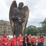 Parish Youth Visit Knife Angel