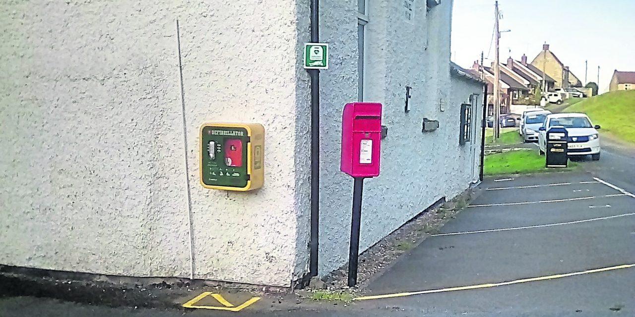 Defibrillator for Redworth Village
