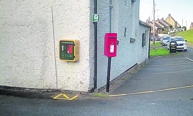 Defibrillator for Redworth Village