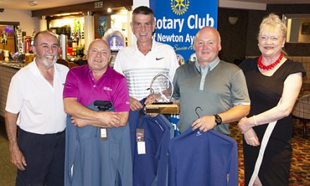 Sun Shines on Rotary Charity Golf Day