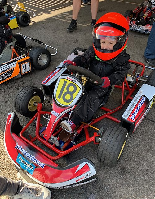 Harrison Makes Great Progress At Rowrah