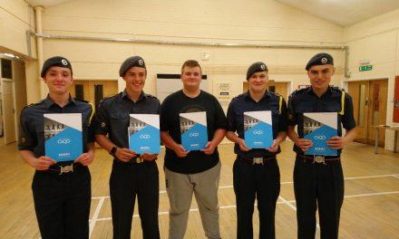 BTec Awards for Air Cadets