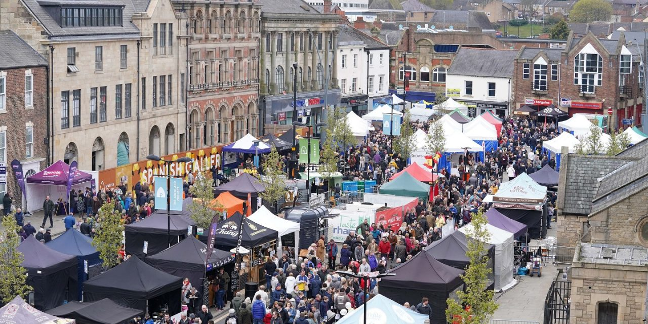 Dates Announced for Bishop Auckland Food Festival 2020