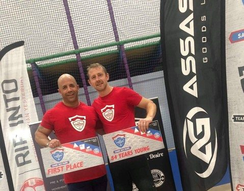 Victory for All Out 'Team 84 Years Young' at Castle Games