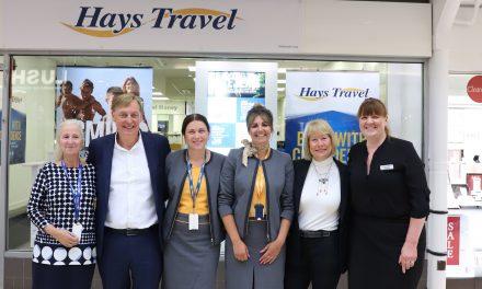 Hays Travel Launches at the Bridges
