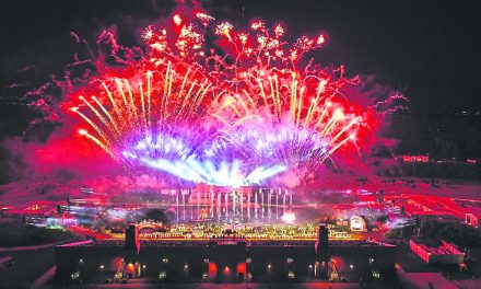 The North East's Biggest Pyromusical – Toe Tapping Hits from the Movies